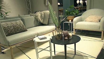 n tv ratgeber imm cologne auf der suche nach den m beltrends 2017 n. Black Bedroom Furniture Sets. Home Design Ideas