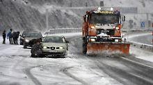 Spanien bibbert wegen Unwetters: Wintereinbruch beschert Mallorca Schnee