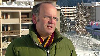 """Wirtschaftsexperte Schweinsberg in Davos: """"Die Rede von Xi war beeindruckend"""""""