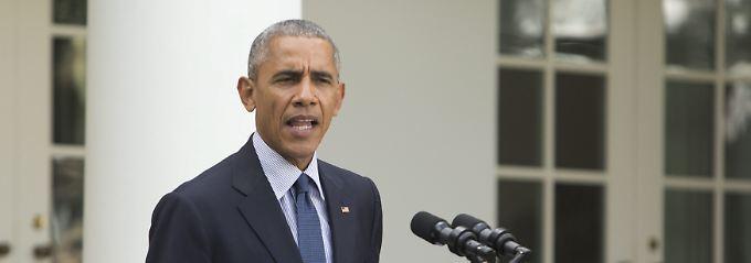 Obamas letzte Überweisung vor Trump: USA zahlen Klimafonds 500 Millionen Dollar