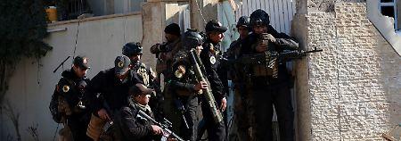 """""""Feind zieht sich zurück"""": US-Militär: Osten Mossuls steht vor Befreiung"""