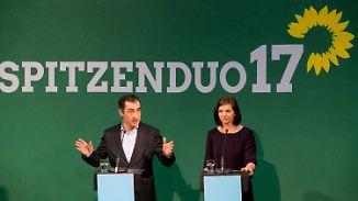 Knappes Ergebnis: Grüne wählen Spitzenkandidaten für Bundestagswahl