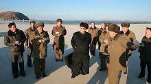Staatschef Kim kündigt Start an: Raketentest in Nordkorea könnte bevorstehen
