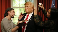 Madame Tussauds in London: Wachs-Trump wird schick gemacht