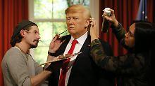 Madame Tussauds in London: Wachs-Trump wird schick gemacht