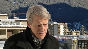 """US-Ökonom Shiller in Davos: """"Habe Sorge, dass Trump ein nukleares Wettrüsten auslöst"""""""