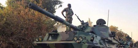 Letztes Ultimatum für Jammeh: Staaten stoppen Truppenvormarsch in Gambia
