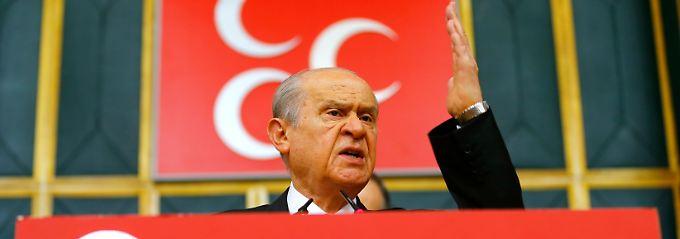 Ein Pakt mit Wölfen: Erdogans Mehrheitsbeschaffer sind bissig