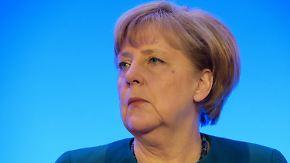 Erprobt im Umgang mit politischen Alphatieren: Merkel reagiert unbeirrt auf Trump