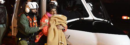 Lawinenunglück in Mittelitalien: Retter suchen weiter nach Überlebenden