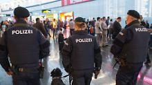 Die Polizei in Österreich erhöht ihre Präsenz.
