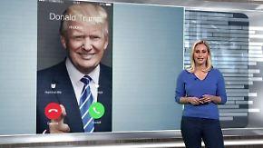 """n-tv Netzreporterin: """"The Donald"""" kommt aufs Smartphone"""