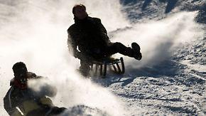 Schnee und Schneeregen im Norden: Woche startet im Süden freundlich