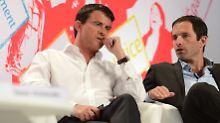 Stichwahl bei Frankreichs Linken: Hamon und Valls ringen um Kandidatur