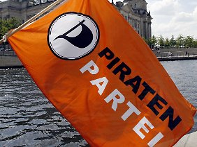 Bislang schaffte es die Piratenpartei, stetig ihr Wahlergebnis zu verbessern.