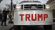Wenn es nach US-Präsident Donald Trum geht, dann würde er alle ausländischen Hersteller vom US-Markt schieben.