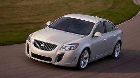 Wie der OPC: Der Buick Regal basiert auf dem Opel Insignia und zeigt sich in LA als Sportversion GS.