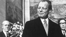 Willy Brandt scheiterte zwei Mal. 1969 wurde er erster SPD-Bundeskanzler und regierte bis 1974.