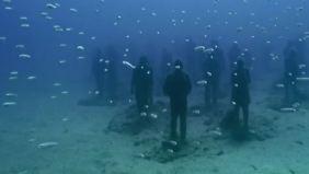 Skulpturen im Meer vor Lanzarote: Europas erstes Unterwassermuseum öffnet