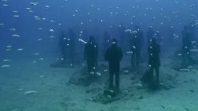 Skulpturen im Meer: Kunstliebhaber können vor Lanzarote abtauchen