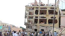 Explosionen in Mogadischu: Mehrere Tote beim Anschlag auf Hotel