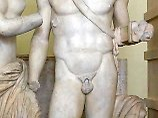 Entamnnte Statue.
