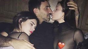 Promi-News des Tages: Bella Hadid und Kendall Jenner teilen sich einen Mann