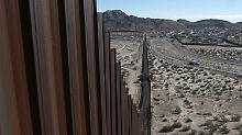 US-Präsident beschließt Mauerbau: Mexiko erzürnt über Trumps Dekret