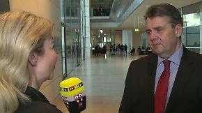 Scheidender SPD-Chef im n-tv Interview: Gabriel blickt zurück und voraus