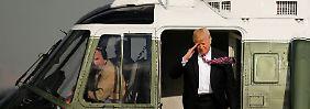 Donald Trump ist seit einer Woche Präsident und damit Oberbefehlshaber der US-Streitkräfte.