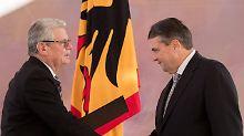 Großes Stühlerücken in Berlin: Gauck ernennt neue Minister