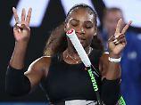 Titel, Rekord, Nummer eins: Serena Williams feiert die verrückte 23