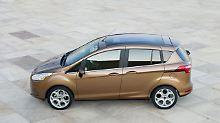 Überdurchschnittlich gute HU: Ford B-Max ist Goldkind der TÜV-Prüfer