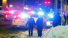 """Premier spricht von """"Terroranschlag"""": Sechs Tote bei Schießerei in Moschee"""