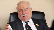 Kommunistische Geheimdienst-Affäre: Experten bestätigen Walesas Spitzeltätigkeit