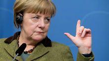 Merkel erneuert ihre Kritik am Einreiseverbot Donald Trumps.