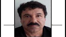 """Verhandlungen in New York: """"El Chapo"""" will selbst vor Gericht stehen"""