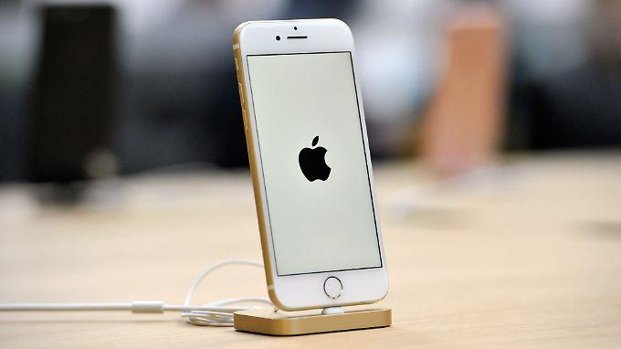 Erfolg mit dem iPhone 7.