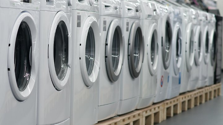 Statt eine Waschmaschine zu kaufen, ist es für einige Kunden lukrativer, sie für einen monatlichen Festpreis zu mieten.