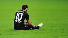 Er ist bedient: Hakan Calhanoglu darf vier Monate lang keinen Fußball spielen.