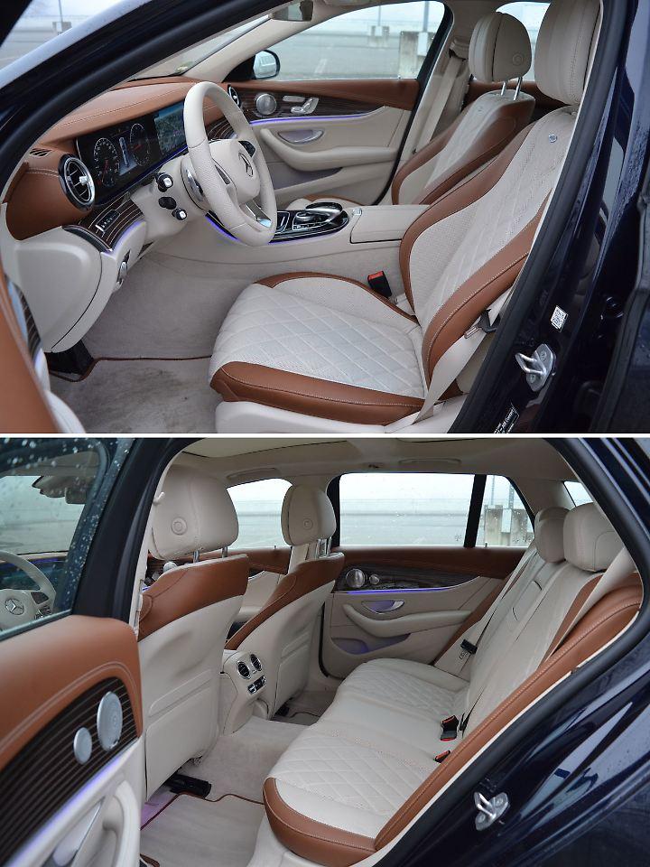 """Das """"Designo Interieur"""" des Testwagens für 6000 Euro extra sieht extrem schick aus, ist aber auch extrem empfindlich."""