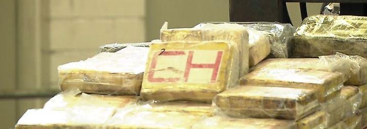 Rekordfund im Schiffscontainer: Zollbehörden stellen 717 Kilogramm Kokain sicher