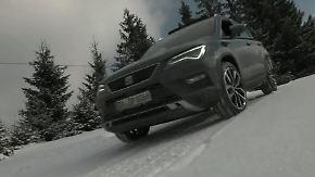 Allradler im Extremtest: Wie schlägt sich der Seat Ateca im Schnee?