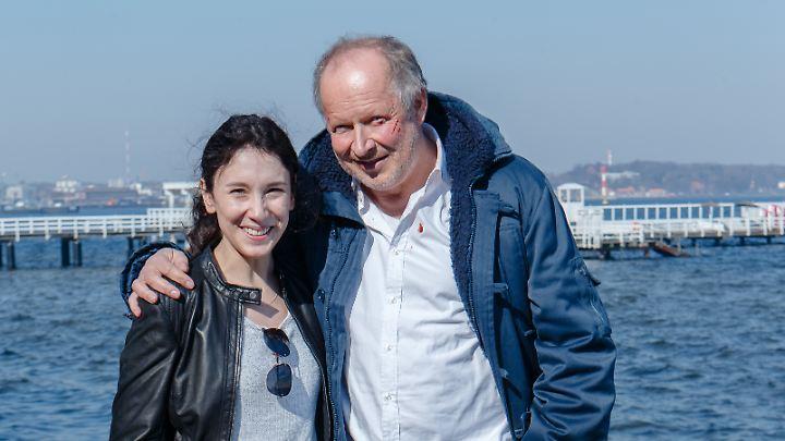 """Sibel Kekilli ermittelte gestern das letzte Mal als """"Tatort""""-Kommissarin an der Seite von Axel Milberg."""