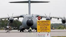 A400M-Premiere für von der Leyen: Bundeswehr hofft auf mehr Militärtransporter