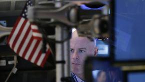 Wachsende Zweifel an Trump-Politik: An den Börsen macht sich Vorsicht breit