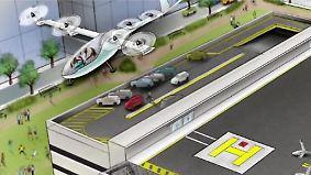 Die Konkurrenz schläft nicht: Uber lässt an fliegenden Autos tüfteln