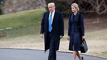 Zwei Trumps im Weißen Haus: Donald und Tochter Ivanka