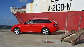 Der Kombi ist nach dem Facelift drei Millimeter kürzer als die Limousine.