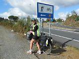 Im DHerbst 2013 radelte Ethel MacDonald auf dem Jakobsweg in Spanien.